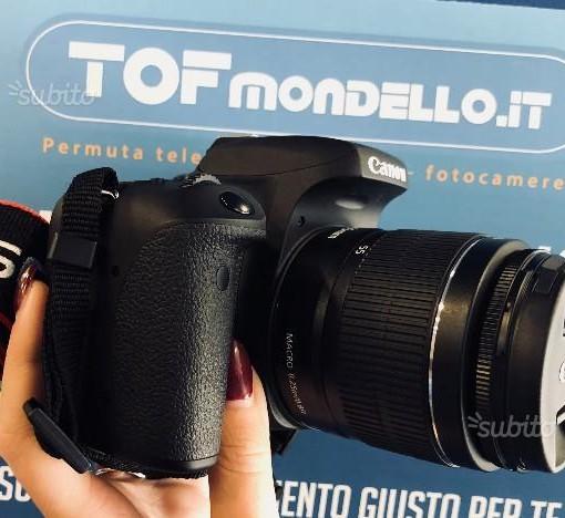 Permuta obiettivi e fotocamere